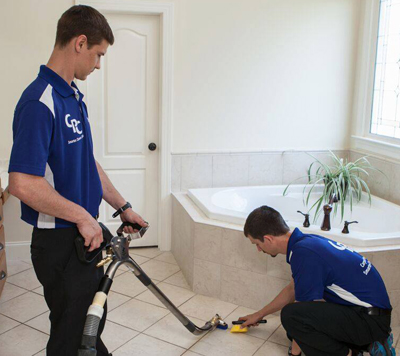 Tile and Grout Cleaning Techs in Raleigh, Durham, Apex, Cary, NC