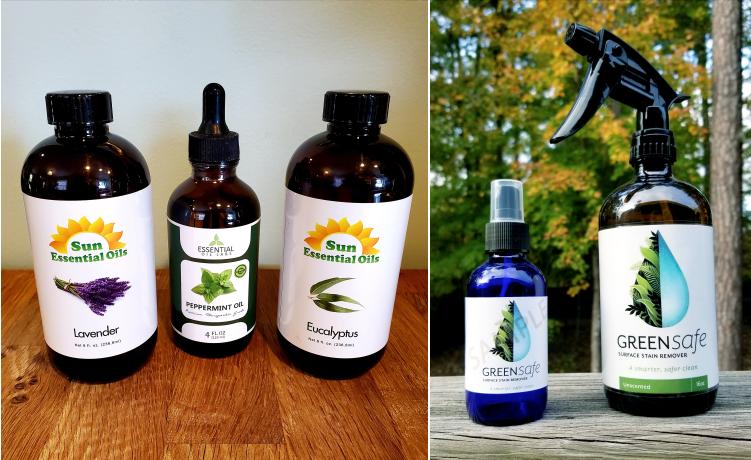 Essential Oils Green Safe